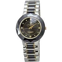 [ジョンハリソン]J.Harison 腕時計 4Pダイヤモンド セラミック素材 ブラック文字盤 CCM-001BB メンズ