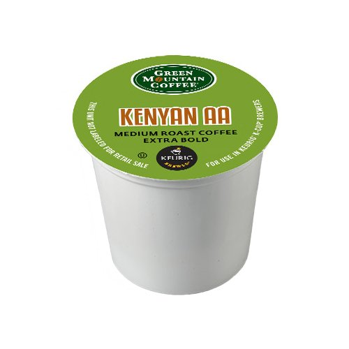 Green Mountain Coffee Kenyan AA, K-Cup Portion Pack for Keurig Brewers 24-Count
