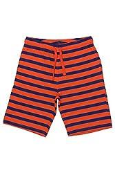 Chalk by Pantaloons Boy's Cotton Shorts (205000005605588, Orange, 4-5 Years)