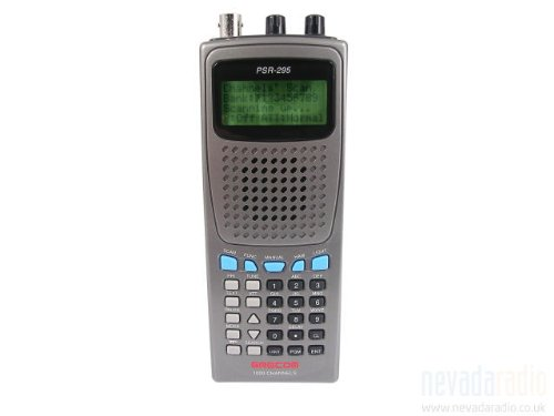 GRE PSR295 1000 Channel Wideband AM/FM Handheld Scanning Receiver