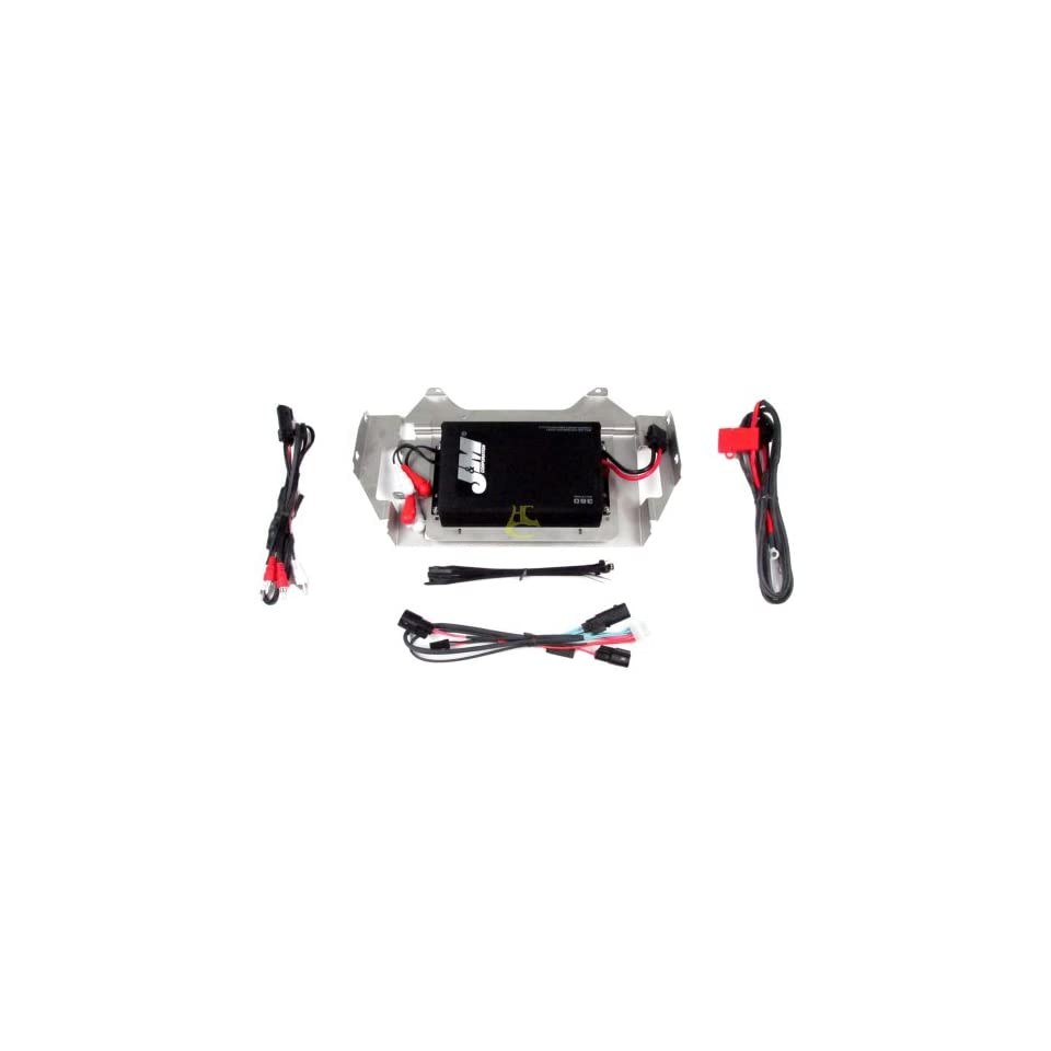 J&M Audio 360 Watt Performance 4 Channel Amplifier Kit 2014 & Newer Harley Davidson Street Glide with four Speakers   JMAA 3600HC14 SG
