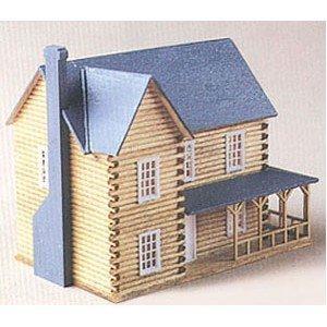Dollhouse Dh3 Log House Kit by Superior Dollhouse Miniatures