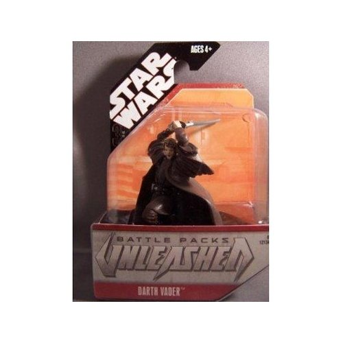 Star Wars Unleashed Battle Pack Singles Darth Vader (Anakin) Action Figure - 1