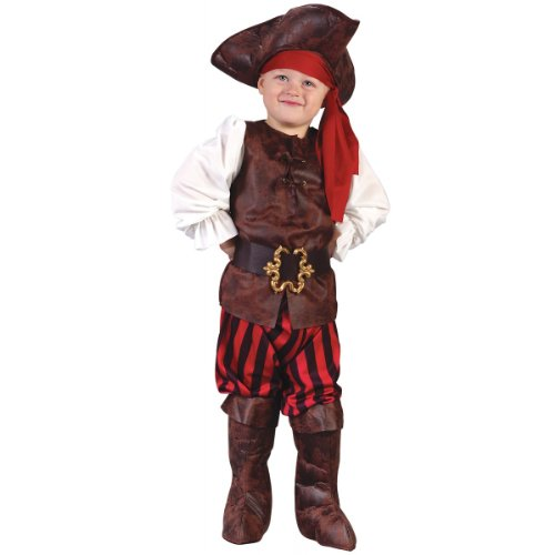 Child's Toddler High Seas Boy Pirate Costume (2T)
