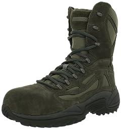 Reebok Men\'s Rapid Response RB8990 Work Boot,Sage Green,13 M US