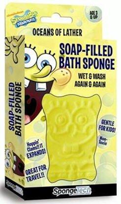 SpongeBob SquarePants Soap Filled Bath Sponge