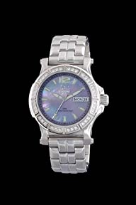 Reactor Ladies Diamond Quark – Purple Mother of Pearl – Day/Date – Forged Steel