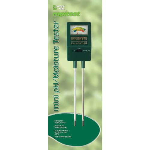 Luster Leaf 1817 Rapitest Mini Soil pH/Moisture Tester