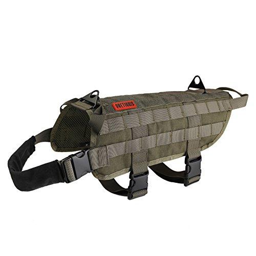 Tactical dog vest - photo#9