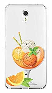 WOW Transparent Printed Back Cover Case For Lenovo Zuk Z1