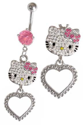 Hello Kitty Belly Button Rings - InfoBarrel