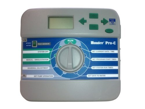Hunter Sprinklers 526200 Pro-C and PCC Controller Front Panel