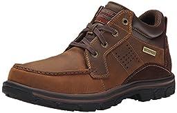 Skechers USA Men\'s Segment Melego Chukka Boot, Dark Brown, 10.5 M US