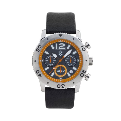 IZOD Men's IZS6/3 ORANGE Sport Quartz Chronograph Watch
