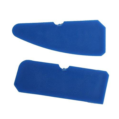 kit 4pcs outils de calfeutrage grattoir pour joint mastic silicone coulis remover bleu. Black Bedroom Furniture Sets. Home Design Ideas