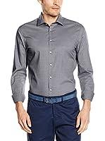 Seidensticker Camisa Vestir Super Slim (Antracita)