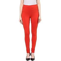 Rangmanch by Pantaloons Womens Cotton Churidar Orange_S