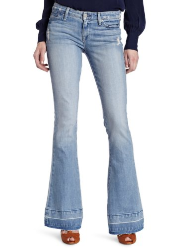 7 For All Mankind Women's Jiselle Jean in Pink Whiskered