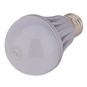 LWS A60 LED Bulb, Warm White By Ledwholesalers, 120Vv60Hz 7.5W model