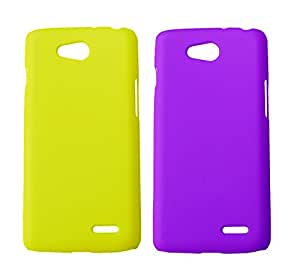 Winsome Deal Exclusive Hard Back Cover Case for LG L90 D405 (Pack of 2)