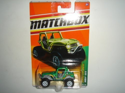 2011 Matchbox MBX 4X4 Green #99 of 100 by Mattel