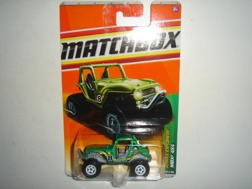 2011 Matchbox MBX 4X4 Green #99 of 100 by Mattel