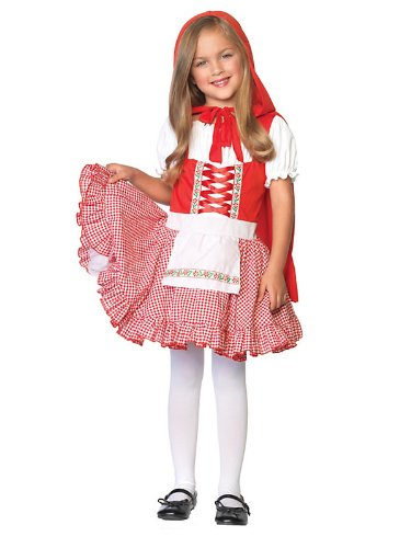 Lil Miss Red Costume - Large