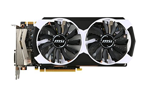 MSI ARMOR 2X GTX 960 4GB OC Dual Fan HDCP Ready SLI Support (GTX 960 4GD5T OC)