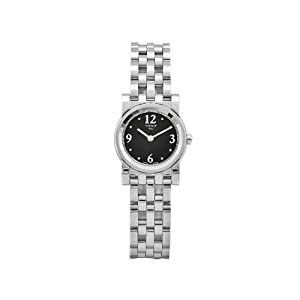 Tissot Women's T0300091105701 Classi-T Stainless-Steel Quartz Black Dial Watch