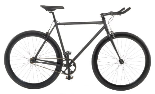 Vilano Edge Fixed Gear Single Speed Bike, Large, Matte Black