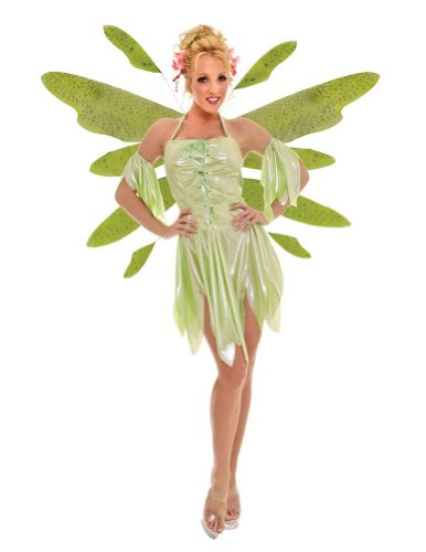 Green Absinthe Fairy Lg Adult Womens Costume