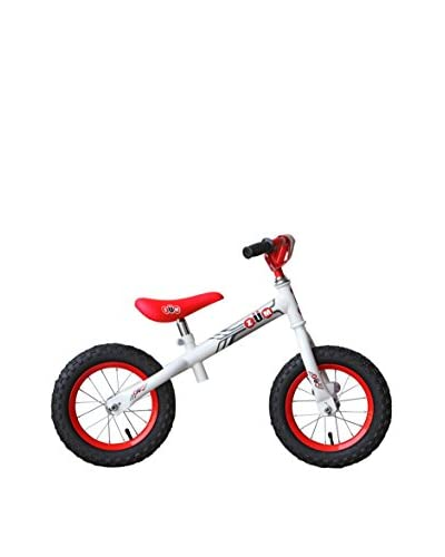 ZÜM SX Metal Balance Bike, White/Red
