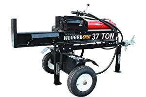 RuggedSplit 37 Ton Type 1 Vertical/Horizontal Log Splitter with Electric Start