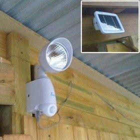 Idk spot eclairage solaire exterieur avec detecteur de for Spot exterieur avec detecteur