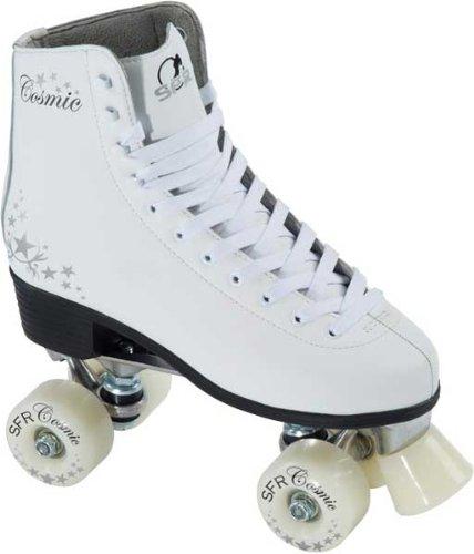 SFR Cosmic Roller Skates - White