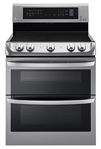 "LG LDE4415ST 30"" Freestanding Ambiguous Oven Electric Range with 5 Cooking Elements in Stainless Steel"