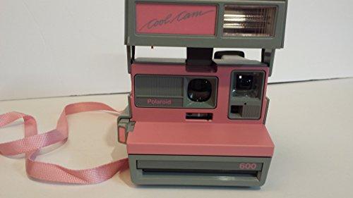 Vintage Polaroid Pink & Gray Cool Cam 600 Instant Camera 1