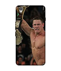 small candy 3D Printed Back Cover For OnePlus X -Multicolor john cena