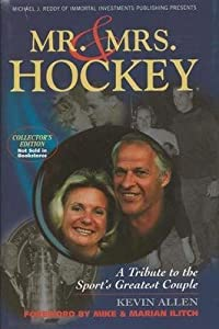 Gordie Howe & Colleen Howe Dual Signed Mr & Mrs Hockey 2004 Hardback Book JSA... by Sports+Memorabilia
