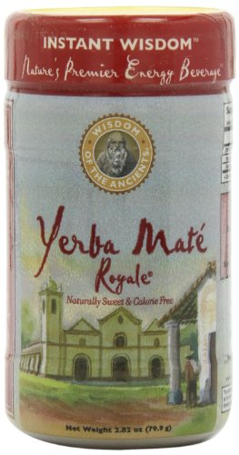 Wisdom Of The Ancients Instant Yerbamate Royale, 2.82-Ounce  (Pack Of 4)