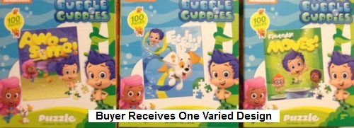 Bubble Guppies Fin-Tastic 100 Piece Jigsaw Puzzle - One Varied Design