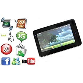 7 Inch Android Tablet PC with WiFi and Camera by WOLVOL
