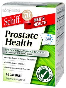 Prostate Health, 60 Capsules by Schiff