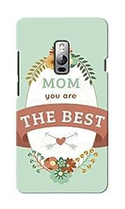 KnapCase Best Mom Designer 3D Printed Case Cover For OnePlus Two