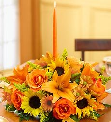 Flowers by 1800Flowers - Fields of Europe for Fall Centerpiece - Large