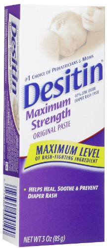 Desitin Diaper Rash Ointment - Maximum Strength - 3 oz - 1