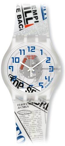 swatch (スウォッチ) 腕時計 007 VILLAIN COLLECTION エリオット・カーヴァー - トゥモロー・ネバー・ダイ SUJK138 [正規輸入品]