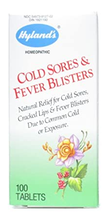 Hylands - Cold Sores/Fever Blisters 100 tabs (Pack of 2)
