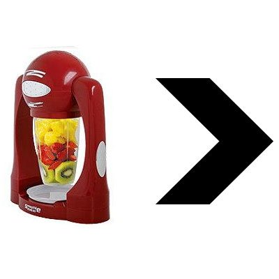 Easy Ultra Quick Fresh Smoothie Maker Blender - perfect gadget for the Kitchen