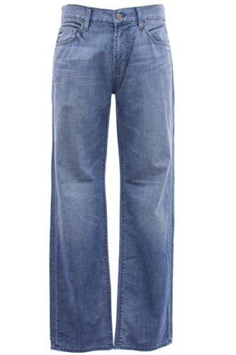 7 For All Mankind Men's Austyn Relaxed Straight Leg Jean In Summer Day